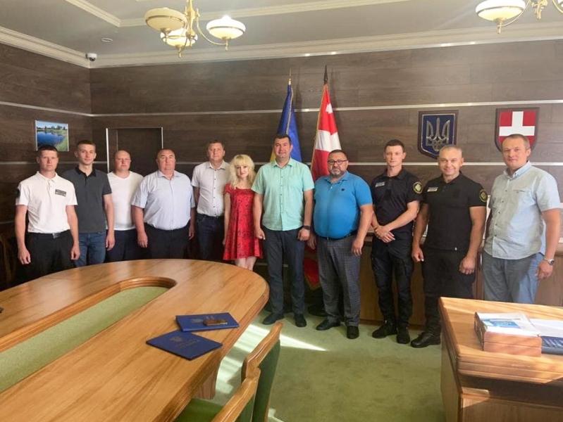 Голова Волиньради зустрівся із керівництвом Поліського міжрегіонального управління Укртрансбезпеки