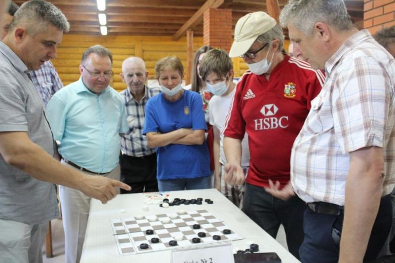 На Волині стартував Чемпіонат України з шашок серед спортсменів з інвалідністю