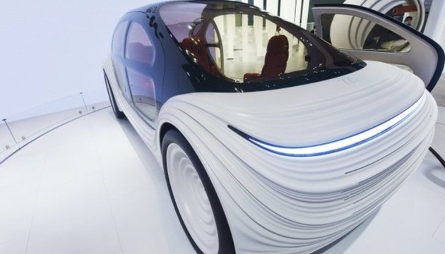 У Британії представили автомобіль, який очищає повітря під час руху