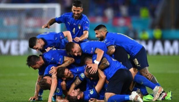 Італія вирвала перемогу в Англії у фіналі футбольного Євро-2020