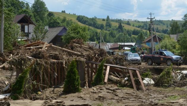 Зруйновані дороги і затоплені будинки: на Закарпатті підрахували збитки від паводку