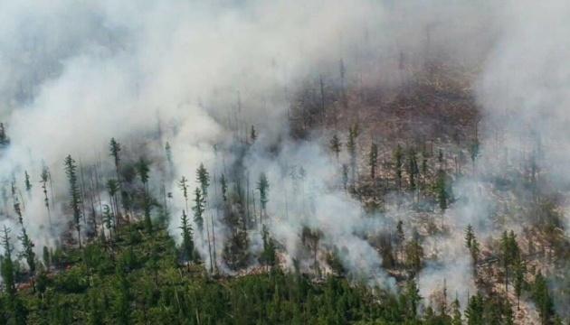 У російській Якутії вигоріло понад мільйон гектарів лісу