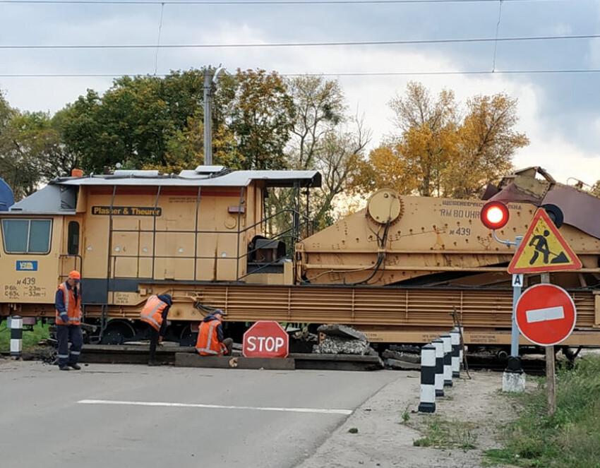 У Рожищі закриють на ремонт залізничний переїзд