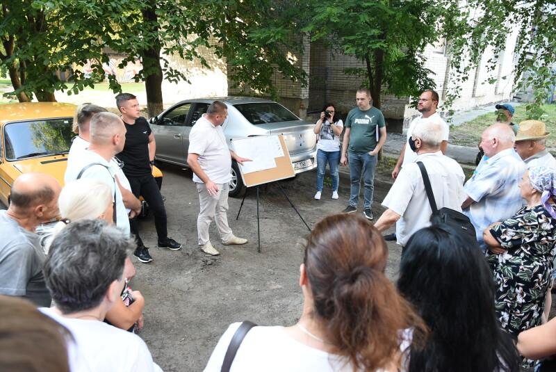 У Луцьку запланували ремонт прибудинкової території на проспекті Соборності