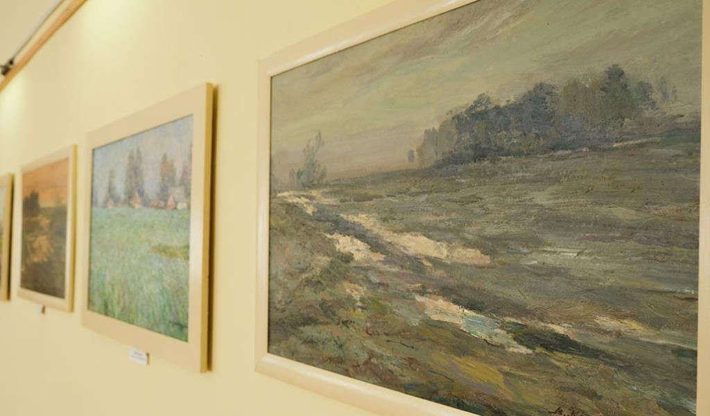 Відомий український художник презентує свої картини у Нововолинську