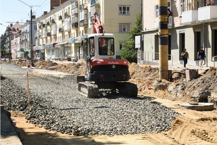 Ремонт проспекту Волі у Луцьку: які роботи встигли виконати