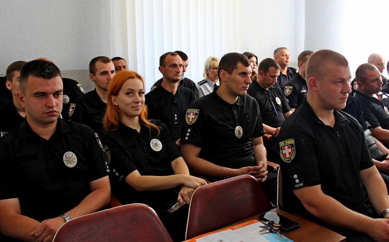 Працівників Володимир-Волинського відділу поліції привітали із професійним святом