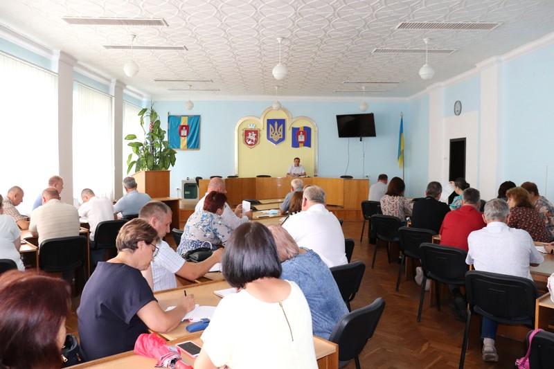 У Володимирі-Волинському аналізували освоєння бюджетних коштів
