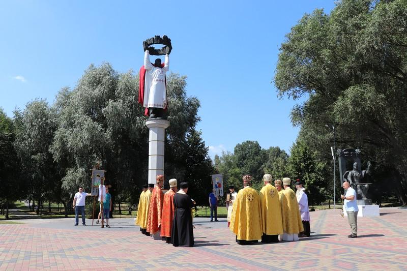 У місті на Волині вшанували пам'ять рівноапостольного князя Володимира