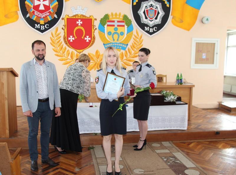Ковельських поліцейських відзначили Подяками міського голови