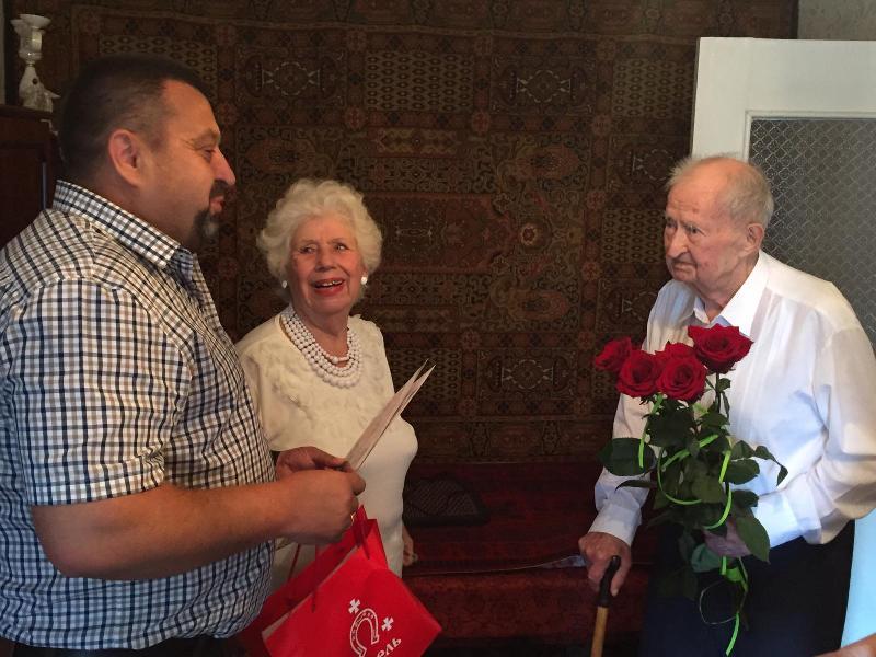 У Ковелі вітали з 94-річчям ветерана війни та праці