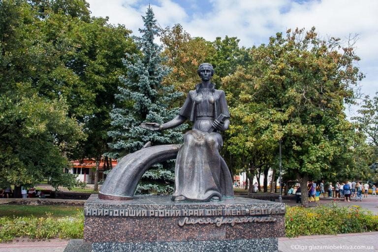 Жителів Ковельської громади закликають вшанувати пам'ять Лесі Українки
