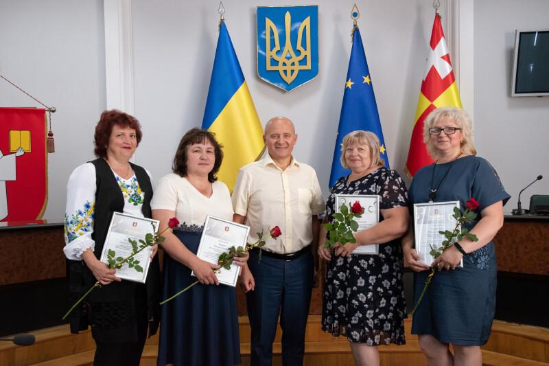 У Луцьку вітали з професійним святом працівників торгівлі