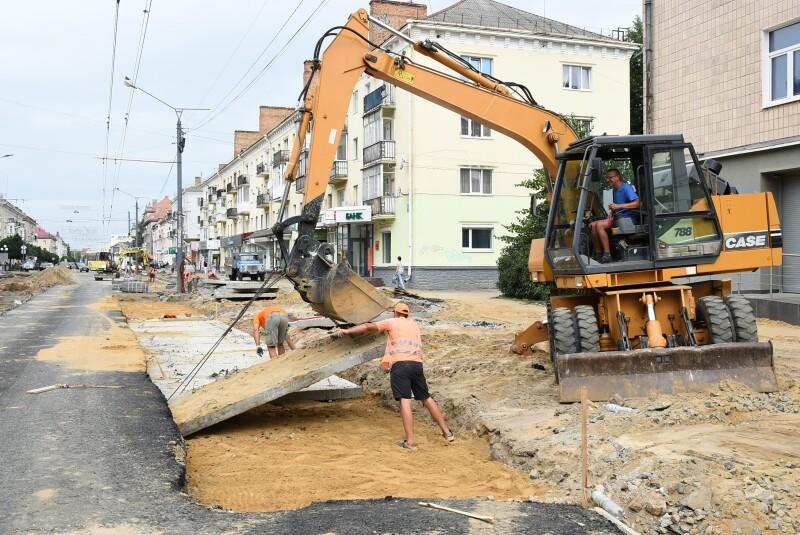 У Луцькій громаді проінспектували ремонт вулиць