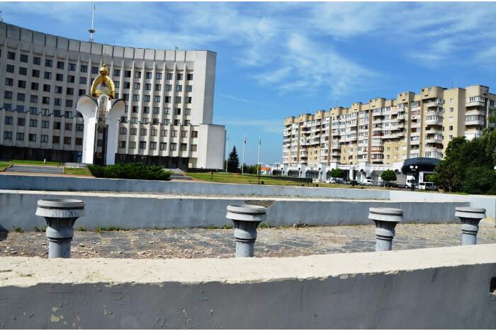 У Луцьку хочуть відновити фонтан на Київському майдані