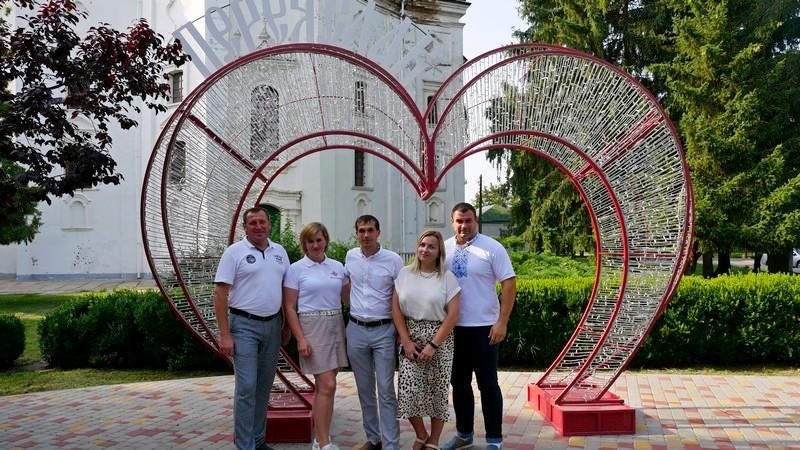 Володимир-волинська делегація відвідала місто Переяслав, яке повернуло історичну назву