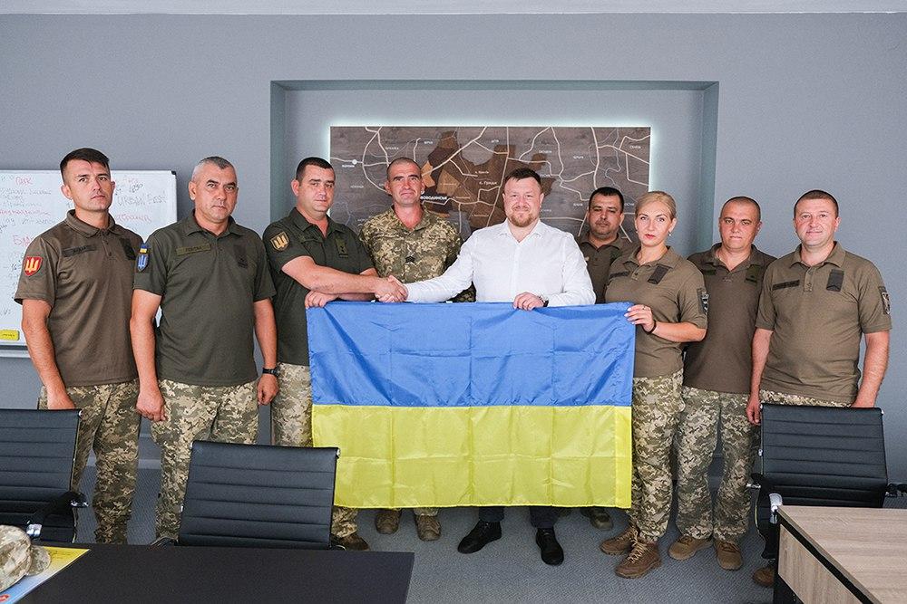 Військових 14-ої ОМБ відзначили подяками Нововолинського міського голови
