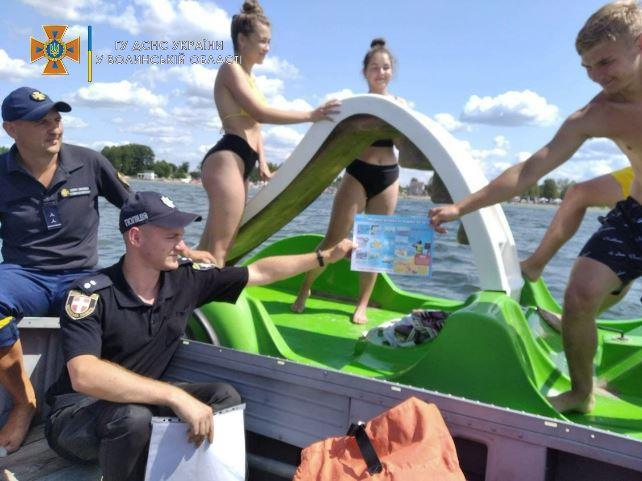 У Світязькій громаді провели профілактичні заходи щодо безпеки на водоймах