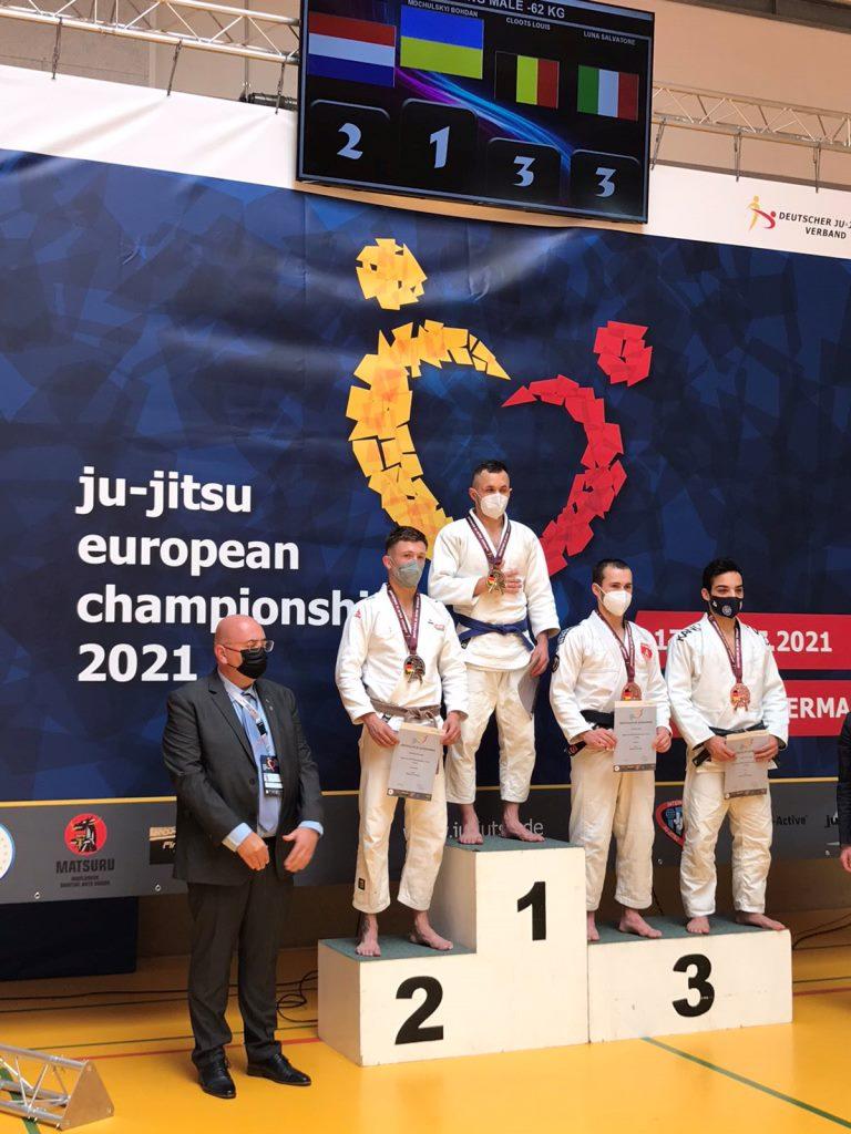 Лучанин став чемпіоном Європи з джиу-джитсу