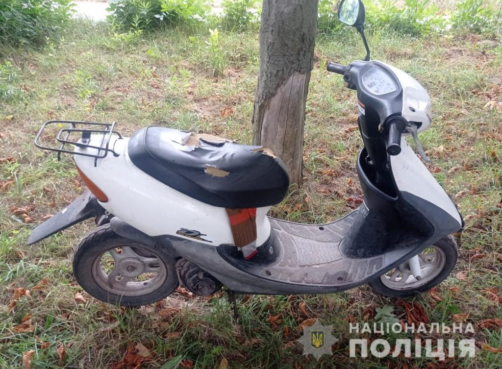 Нововолинські поліцейські оперативно розкрили крадіжку скутера у пенсіонера