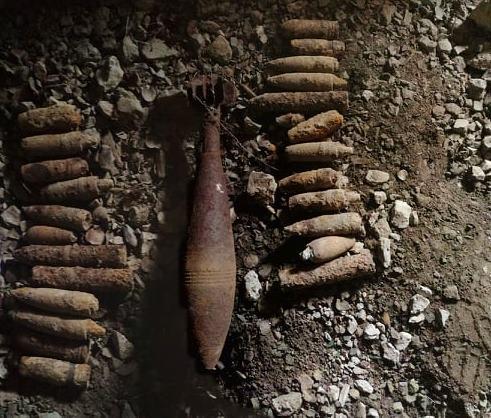 На Волині ліквідували арсенал боєприпасів
