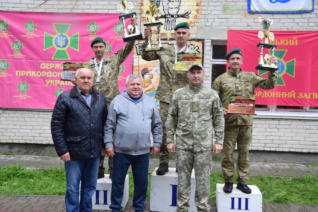 На Волині відбувся чемпіонат Держприкордонслужби України зі спортивного орієнтування