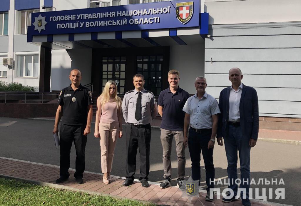 Волинські криміналісти отримали сучасне технічне обладнання від Консультативної місії ЄС