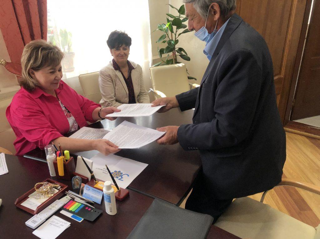 На Волині підписали меморандум про співпрацю щодо підтримки Національної кампанії з вакцинації населення від COVID-19