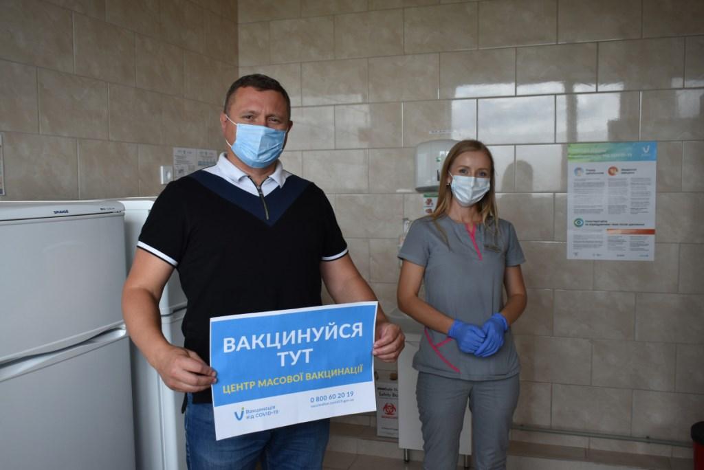 Погуляйко оглянув центр вакцинації у Луцьку