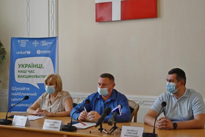 Показники вакцинації на Волині – серед найнижчих в Україні