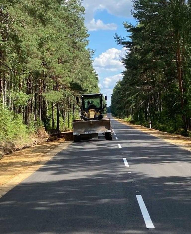 На Волині завершують ремонт дороги місцевого значення