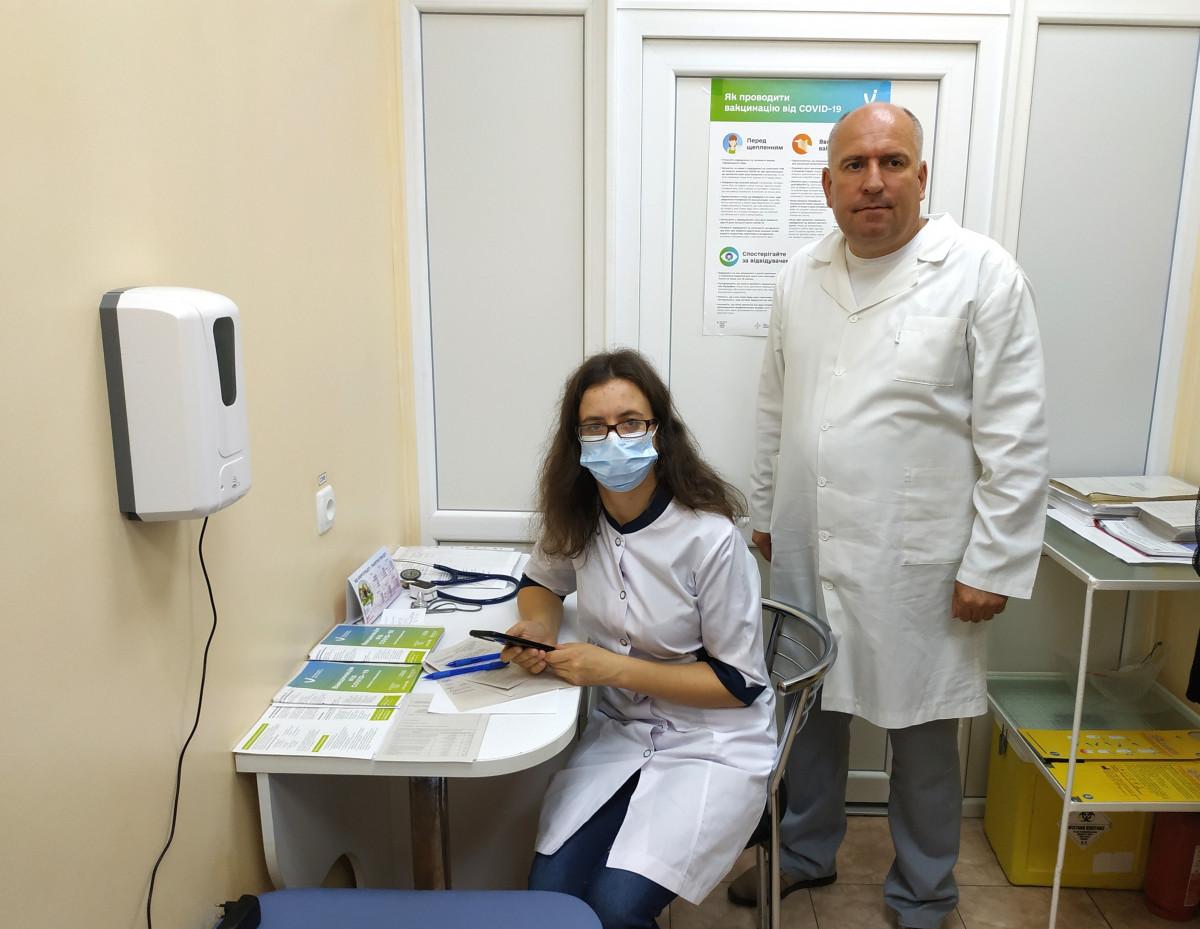 У Камінь-Каширській громаді щоденно функціонує центр вакцинації населення