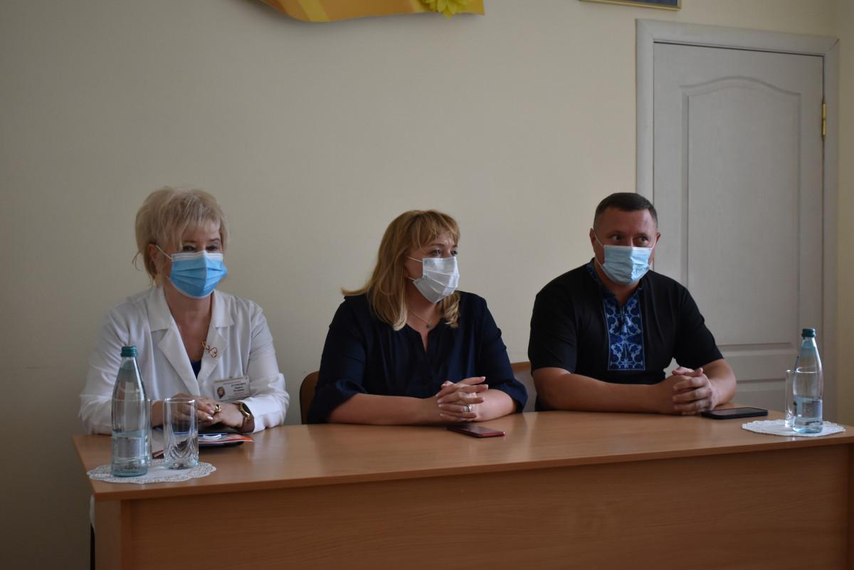 Перший заступник Міністра охорони здоров'я України з робочим візитом відвідала Волинь