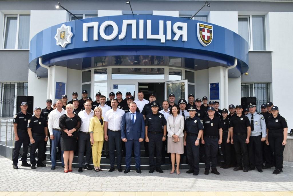 У Любешові відділ поліцейської діяльності розпочав роботу у новому адмінприміщенні