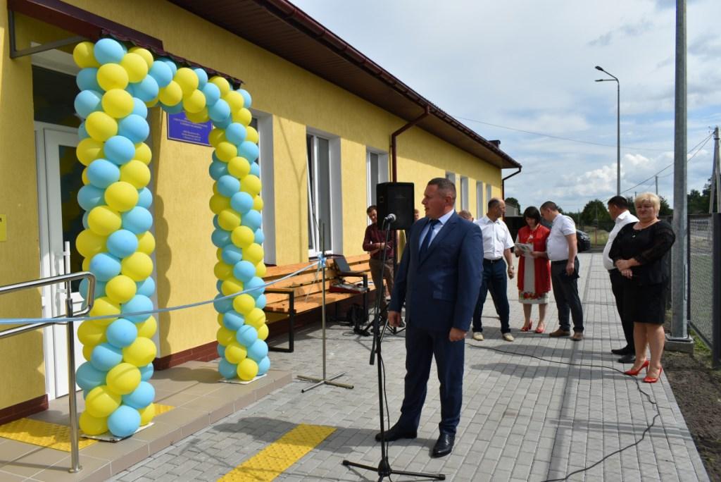 У селі Камінь-Каширського району відкрили нову амбулаторію