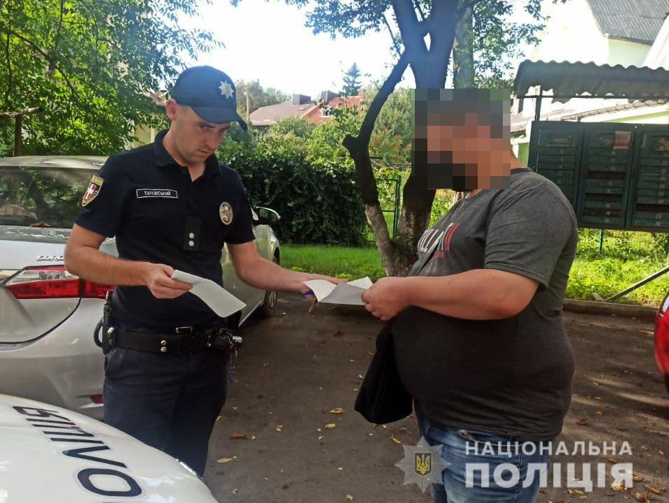 Поліцейські на Волині перевіряють сім'ї, де вчинялося домашнє насильство
