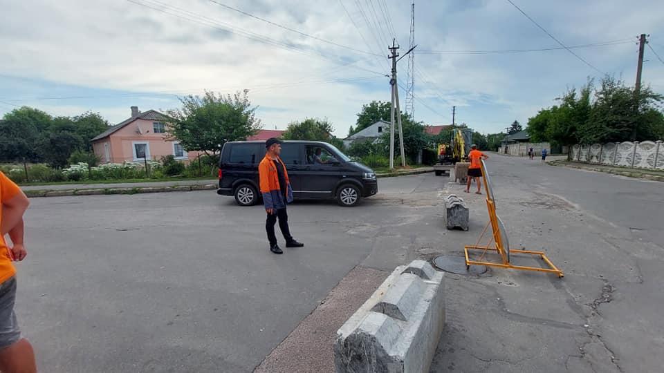 У Володимирі-Волинському розпочинають капремонт вулиці Павлова