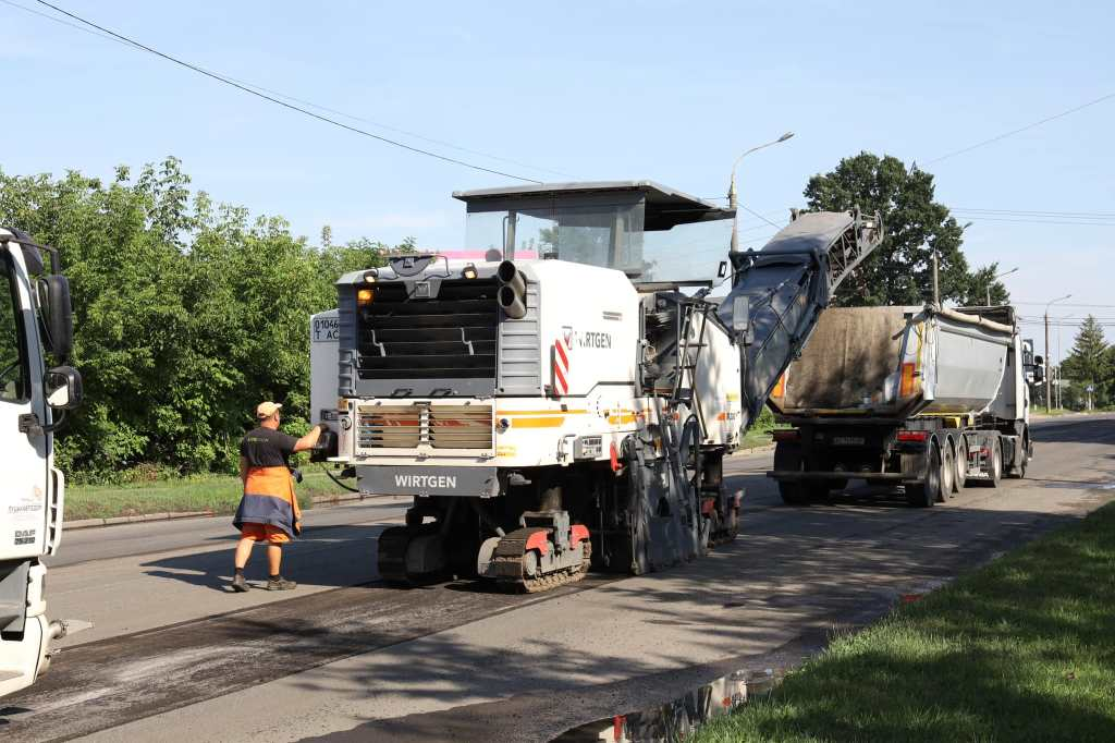 У Луцьку розпочали ремонт однієї із магістральних вулиць