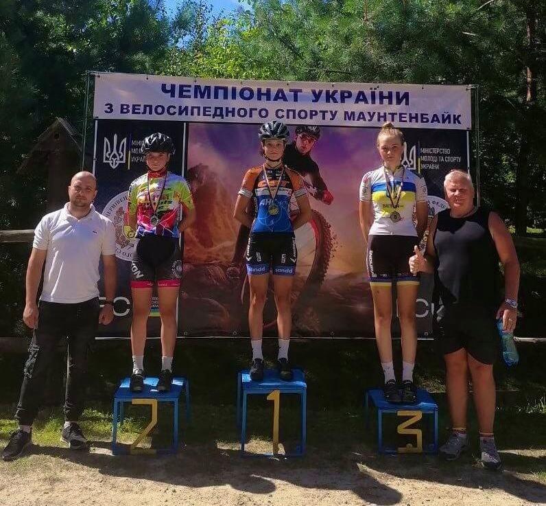 Волинські спортсмени – чемпіони України з велоспорту маунтенбайк