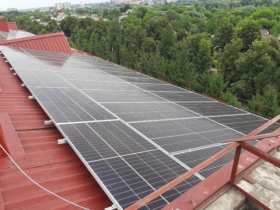 Третину електроенергії у Волинському обласному фтизіопульмонологічному медичному центрі «вироблятиме» сонце