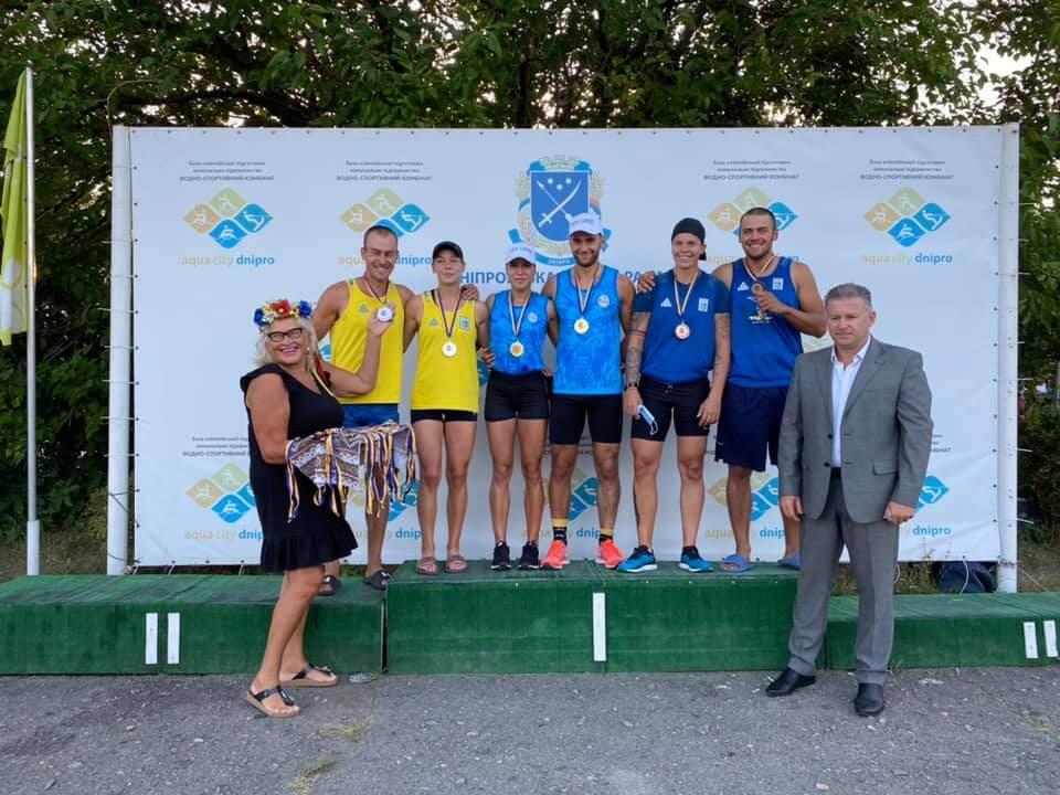 Волиняни успішно виступили у чемпіонаті України з веслування на байдарках і каное