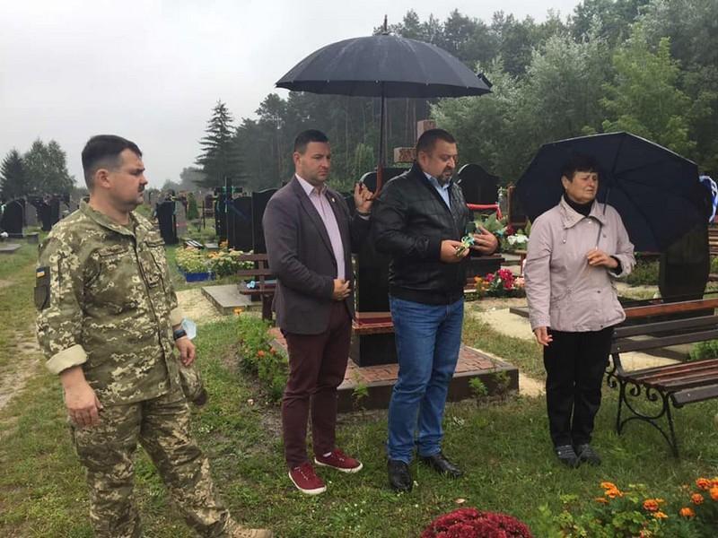 У Ковелі вшанували пам'ять двох загиблих Героїв АТО
