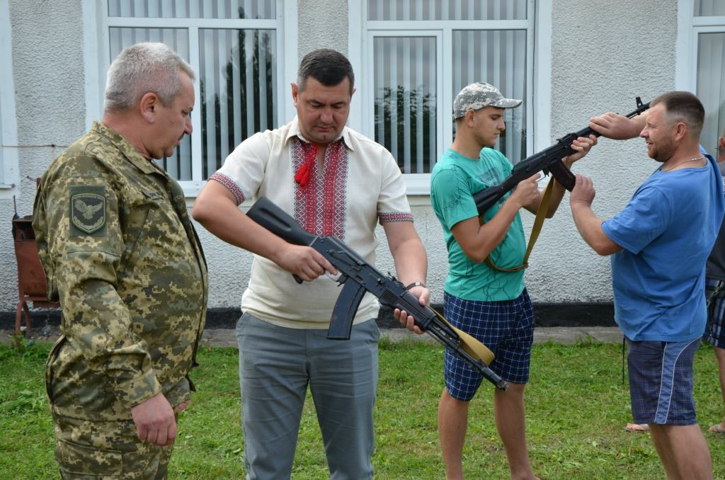 На Волині організували навчання з територіальної оборони
