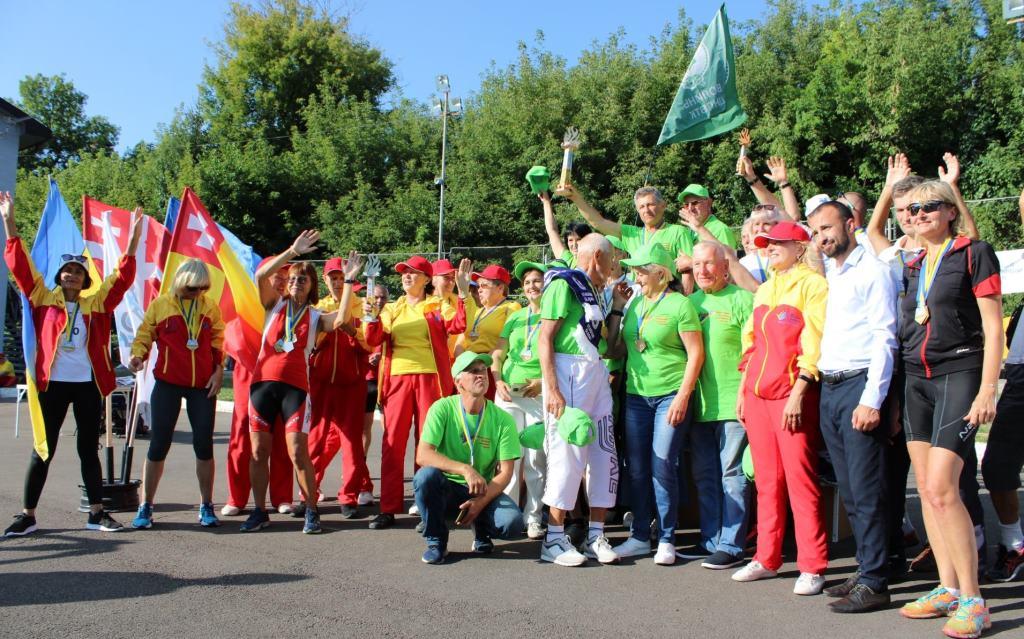 У Луцьку – V Міжнародний фестиваль літньої cеньйоріади «Спорт для всіх заради здоров'я»