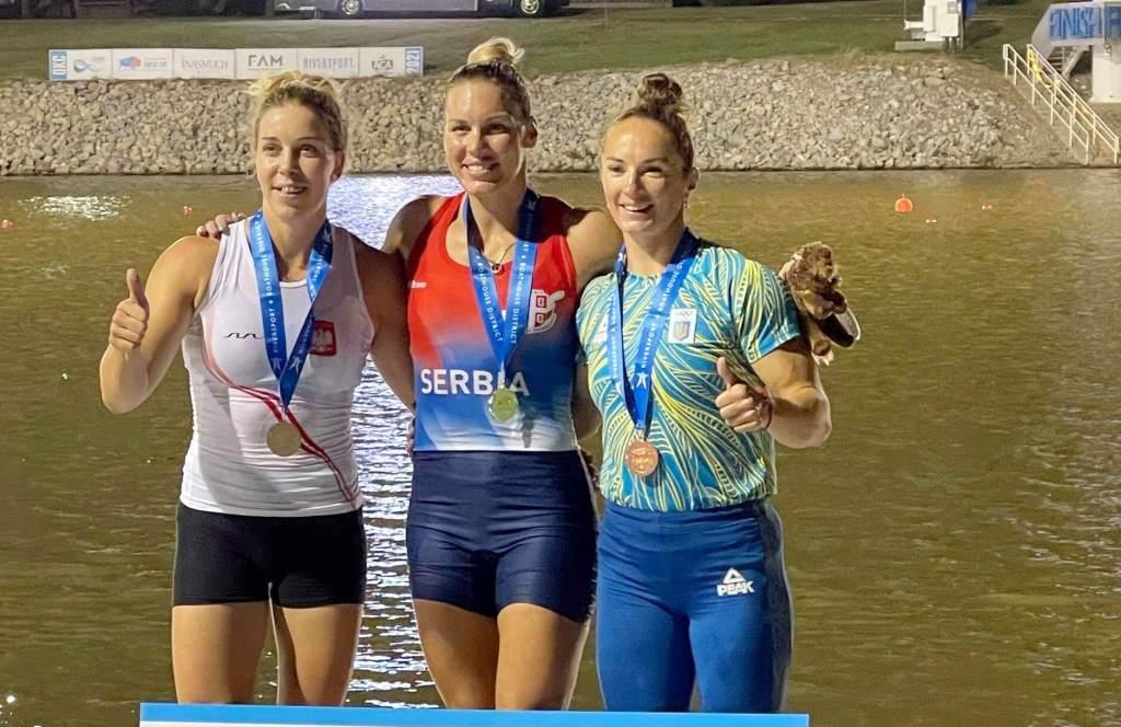 Волинська спортсменка виборола дві медалі Суперкубку з каное спринту