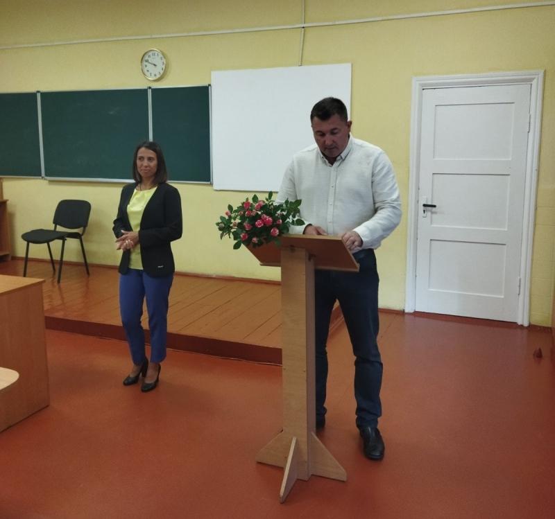 У Ківерцях представили нового керівника гімназії