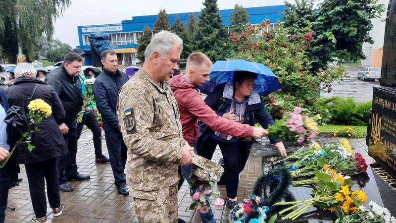 У Горохові вшанували загиблих захисників України