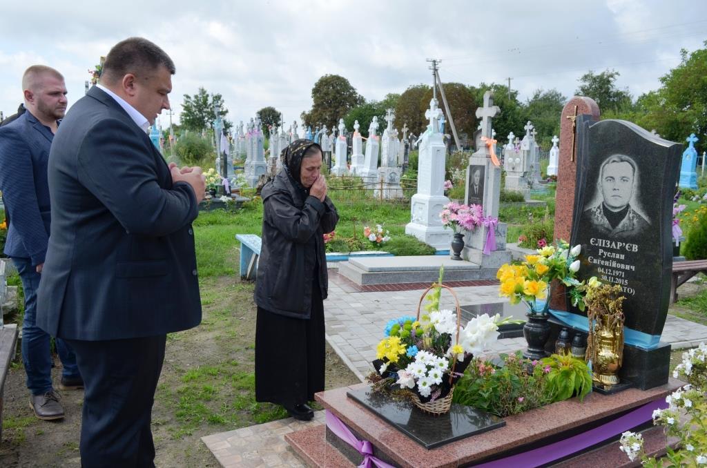 У Рожищенській громаді вшанували пам'ять загиблих захисників України