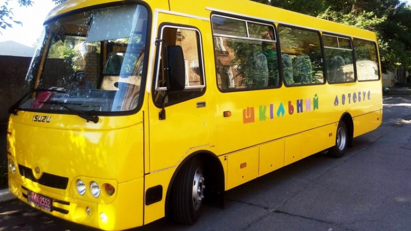 Понад десять волинських громад внесли частку на придбання шкільних автобусів та ноутбуків