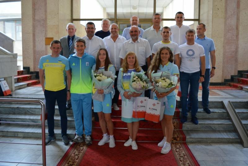 Голова Волиньради привітав волинських олімпійців